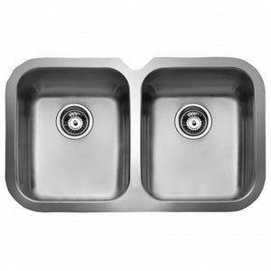 Sink with Two Basins Teka 10125150 BE 2C 765 Stainless steel-Universal Store London™