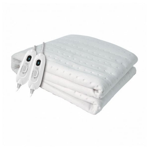 Image of Electric Blanket Daga FLEXYHEATCME 60W (150 x 130 cm) White-Universal Store London™