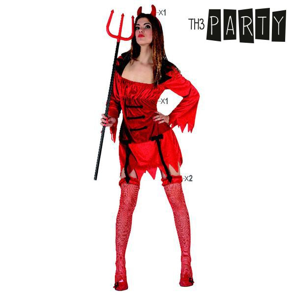 Costume for Adults Th3 Party 9012 Female demon-Universal Store London™