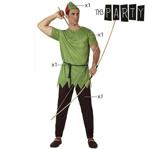 Costume for Adults Th3 Party 1336 Male archer-Universal Store London™