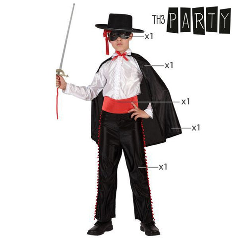 Image of Costume for Children Th3 Party Zorro-Universal Store London™