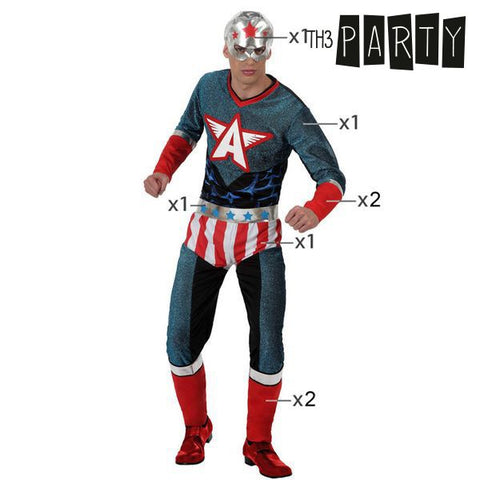 Costume for Adults Superhero-Universal Store London™