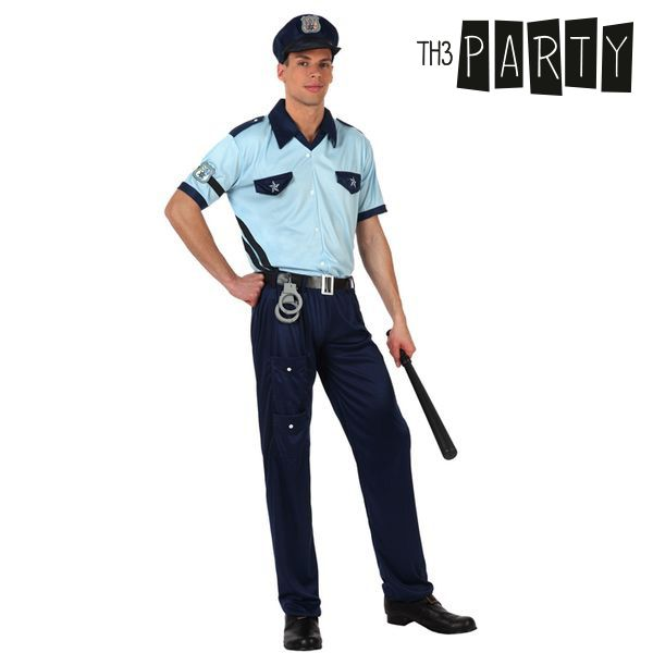 Costume for Adults Th3 Party Police officer-Universal Store London™