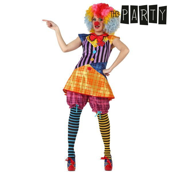 Costume for Adults Th3 Party 3363 Female clown-Universal Store London™