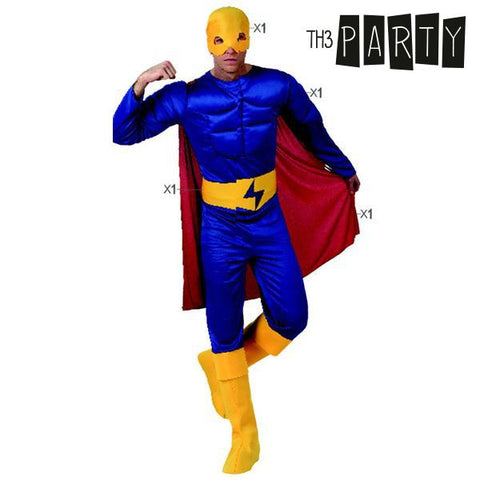 Costume for Adults Th3 Party Muscular hero-Universal Store London™