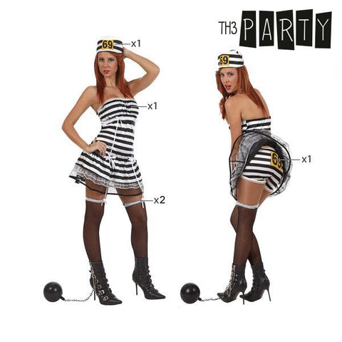 Costume for Adults Th3 Party Sexy female prisoner-Universal Store London™