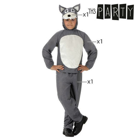 Costume for Children Th3 Party Ferocious wolf-Universal Store London™