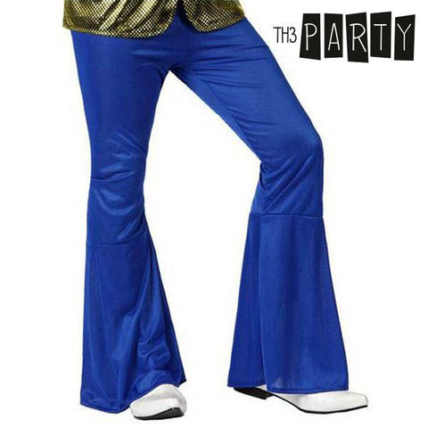 Adult Trousers Th3 Party Disco Blue-Universal Store London™
