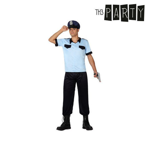 Image of Costume for Adults Th3 Party Policeman-Universal Store London™