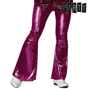 Adult Trousers Th3 Party Disco Fuchsia-Universal Store London™