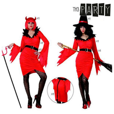 Costume for Adults Th3 Party Witch Female demon-Universal Store London™