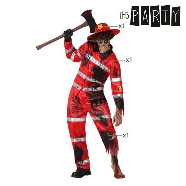 Costume for Adults Th3 Party Dead fireman-Universal Store London™