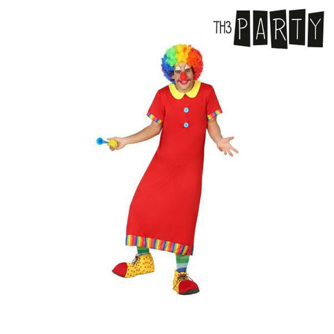 Costume for Adults Th3 Party Male clown-Universal Store London™