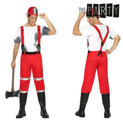 Image of Costume for Adults Th3 Party Fireman-Universal Store London™