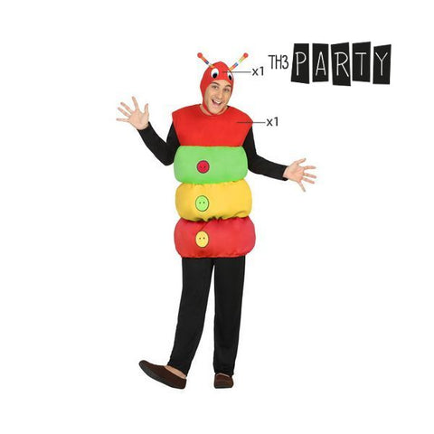 Costume for Adults Th3 Party 2467 Worm-Universal Store London™