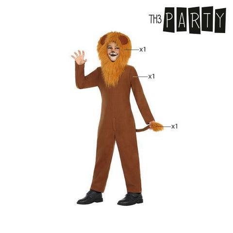 Costume for Children Th3 Party Lion-Universal Store London™