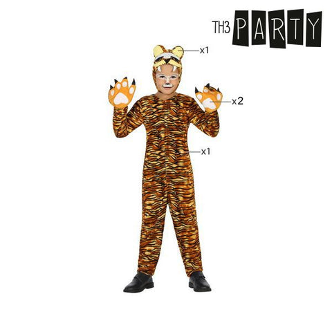 Costume for Children Th3 Party Tiger-Universal Store London™