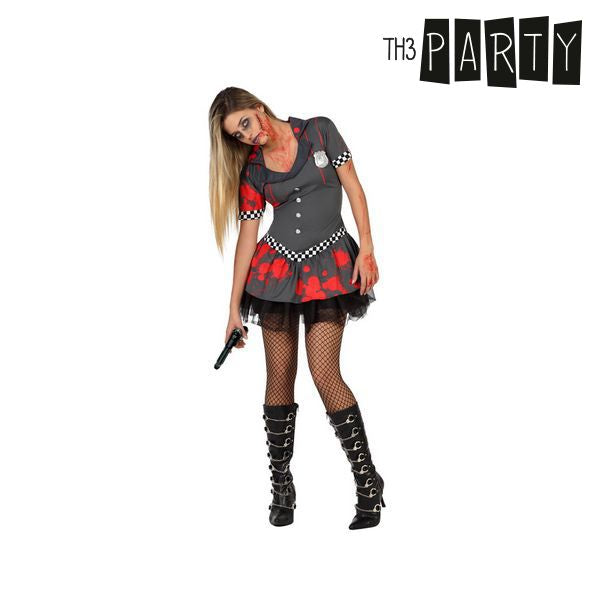 Costume for Adults Th3 Party Zombie police officer-Universal Store London™