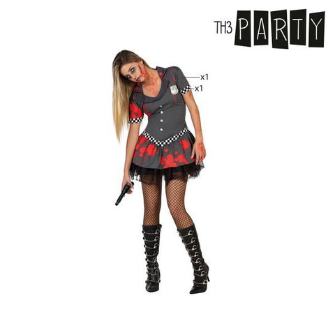 Image of Costume for Adults Th3 Party Zombie police officer-Universal Store London™