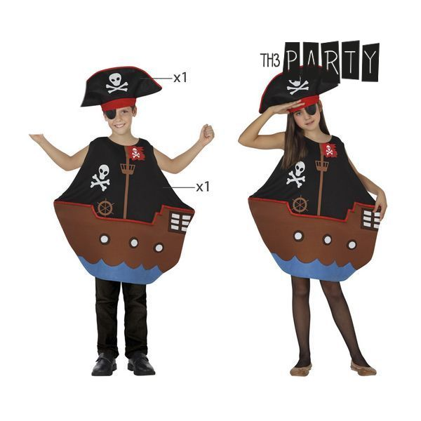 Costume for Children Th3 Party Pirate ship-Universal Store London™