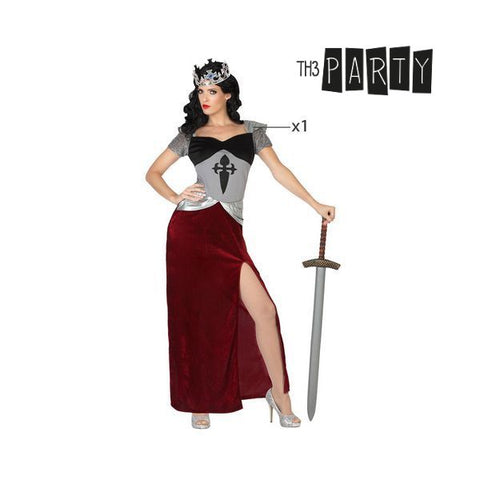 Costume for Adults Th3 Party 8475 Female medieval warrior-Universal Store London™