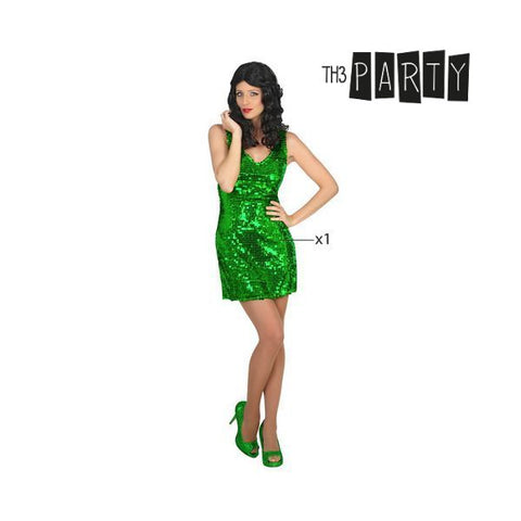 Costume for Adults Th3 Party Disco Green-Universal Store London™