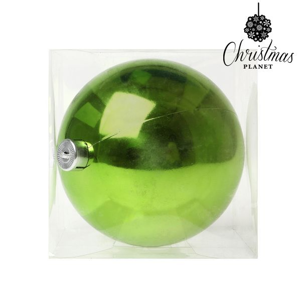 Christmas Bauble Christmas Planet 5221 15 cm Plastic Green-Universal Store London™