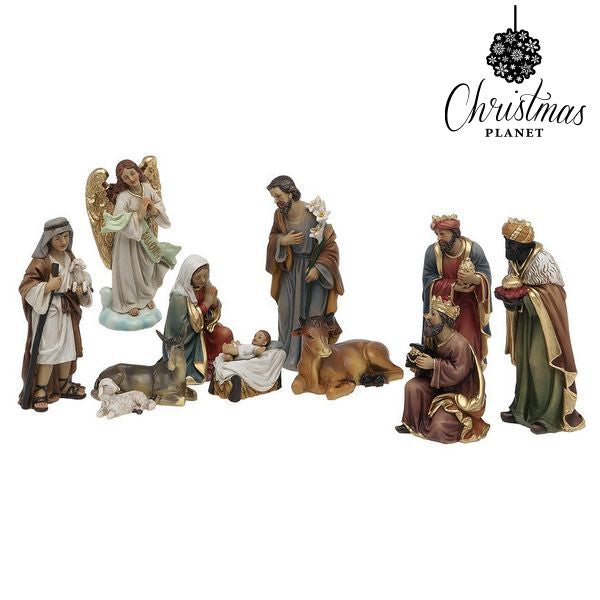 Christmas nativity set Christmas Planet 6869 15 cm (11 pcs)-Universal Store London™
