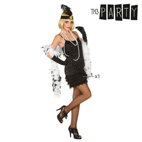 Costume for Adults Th3 Party Charleston Black-Universal Store London™