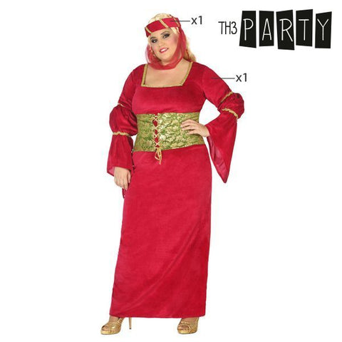 Costume for Adults Th3 Party Medieval lady-Universal Store London™