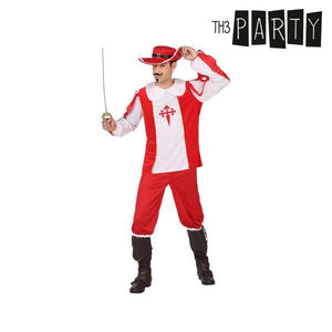 Costume for Adults Th3 Party Male musketeer-Universal Store London™