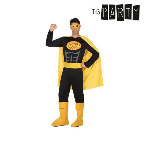 Costume for Adults Th3 Party Superhero Black-Universal Store London™