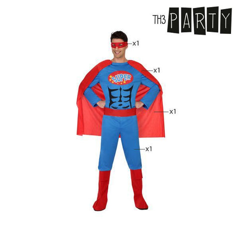 Costume for Adults Th3 Party Superhero-Universal Store London™