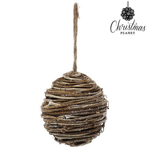 Christmas Bauble Christmas Planet 3949 Wood Brown-Universal Store London™