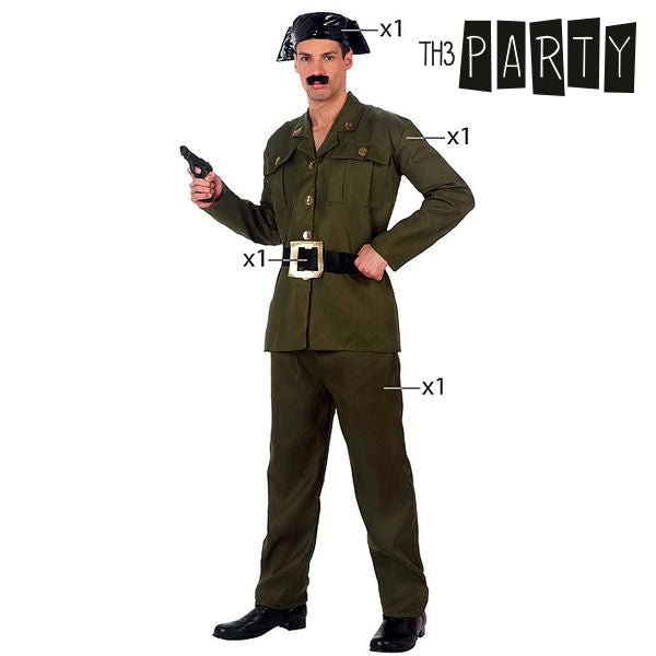 Costume for Adults Th3 Party 1389 Military police-Universal Store London™
