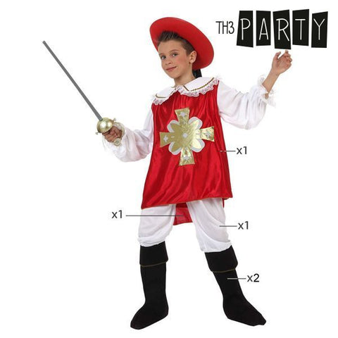 Costume for Children Th3 Party Male musketeer-Universal Store London™