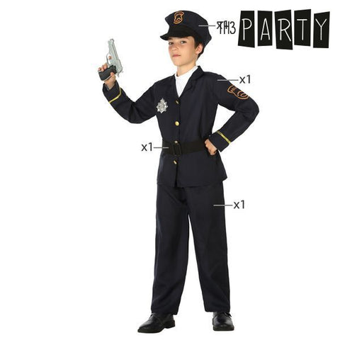 Costume for Children Th3 Party Police officer-Universal Store London™