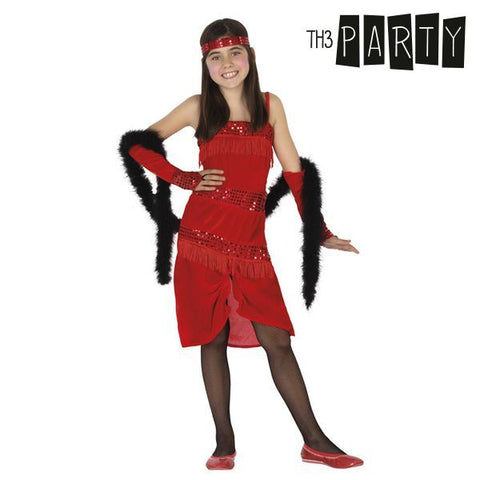 Costume for Children Th3 Party Charleston Red-Universal Store London™