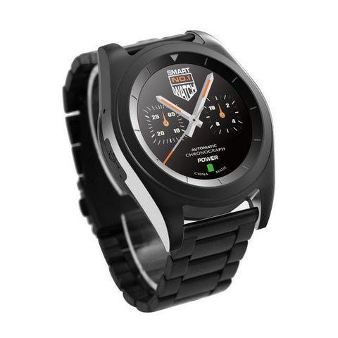 Watch/Heart-rate Monitor BRIGMTON BWATCH-BT6N 1.2'' HD 64 MB RAM 128 MB ROM Micro USB 250 mAh Black-Universal Store London™