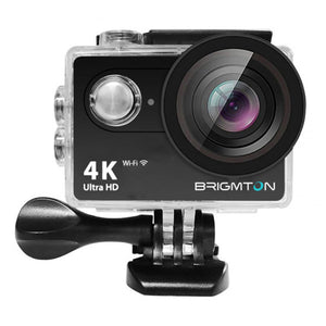 Sports Camera BRIGMTON BSC-10-HD4K Wifi Black-Universal Store London™