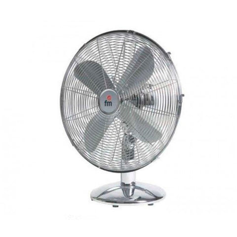 Table Fan Grupo FM SM140 50W Chrome-Universal Store London™