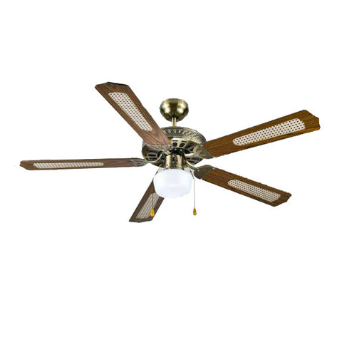 Ceiling Fan with Light Grupo FM FM VT-CLASSIC 60W 132 CM-Universal Store London™