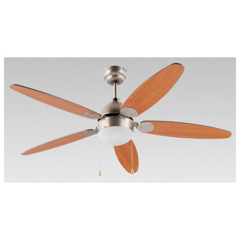 Ceiling Fan with Light Grupo FM VT-130 Brown-Universal Store London™