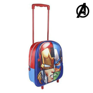 3D School Bag with Wheels The Avengers 8041-Universal Store London™