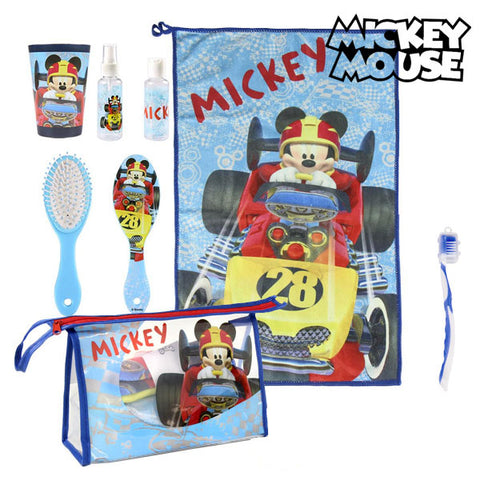 Toilet Bag with Accessories Mickey Mouse 8768 (7 pcs)-Universal Store London™