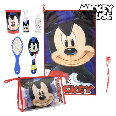 Toilet Bag with Accessories Mickey Mouse 8782 (7 pcs)-Universal Store London™