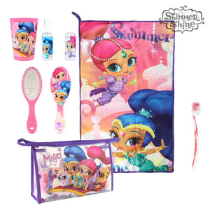 Toilet Bag with Accessories Shimmer and Shine 3622 (7 pcs)-Universal Store London™