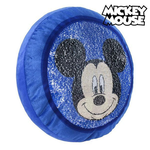 Magic Mermaid Sequin Cushion Mickey Mouse 19773-Universal Store London™