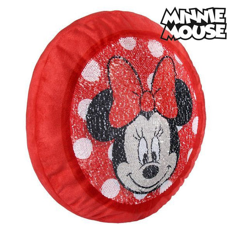 Image of Magic Mermaid Sequin Cushion Minnie Mouse 19780-Universal Store London™