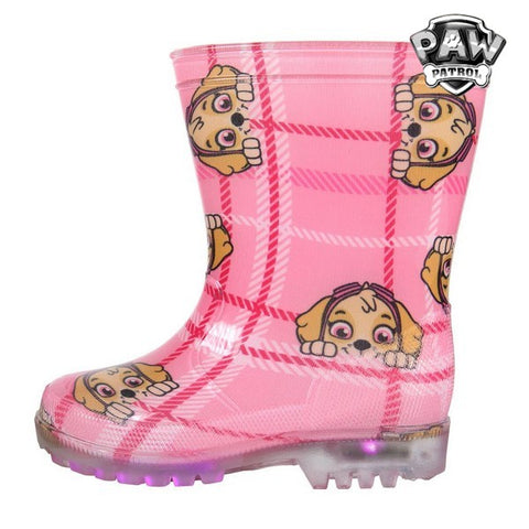 Children's Water Boots with LEDs The Paw Patrol 73480 Pink-Universal Store London™